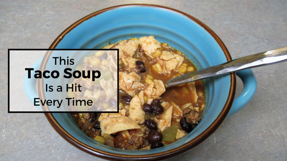 You definitely have to try this Taco Soup!